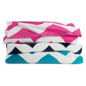 Chevron Velour Beach Towel