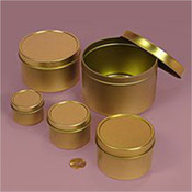Gold Tin Can