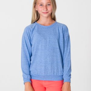 RSATR294 Youth Tri-Blend Raglan Pullover Thumbnail