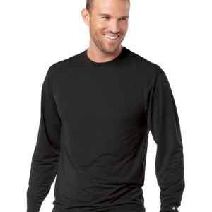 B-Tech Cotton-Feel Long Sleeve T-Shirt Thumbnail