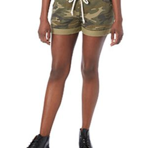 Ladies' Lounge Burnout French Terry Shorts Thumbnail