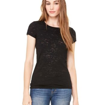 Women's Short Sleeve Burnout Tee Thumbnail