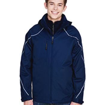 Men's Tall Angle 3-in-1 Jacket with Bonded Fleece Liner Thumbnail