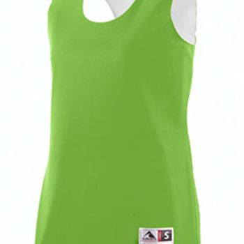 Ladies' Wicking Polyester Reversible Sleeveless Jersey Thumbnail