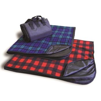 Polyester/Nylon Patterned Picnic Blanket Thumbnail
