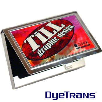 Stainless Steel Business Card Holder Thumbnail